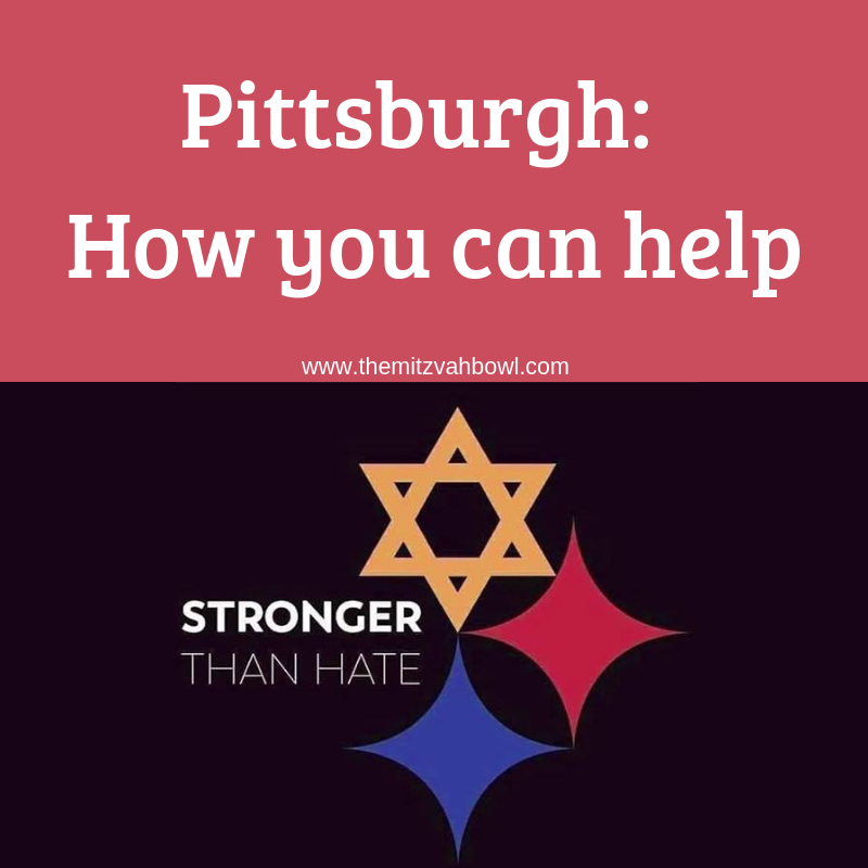 The Mitzvah Bowl Pittsburgh How You Can Help